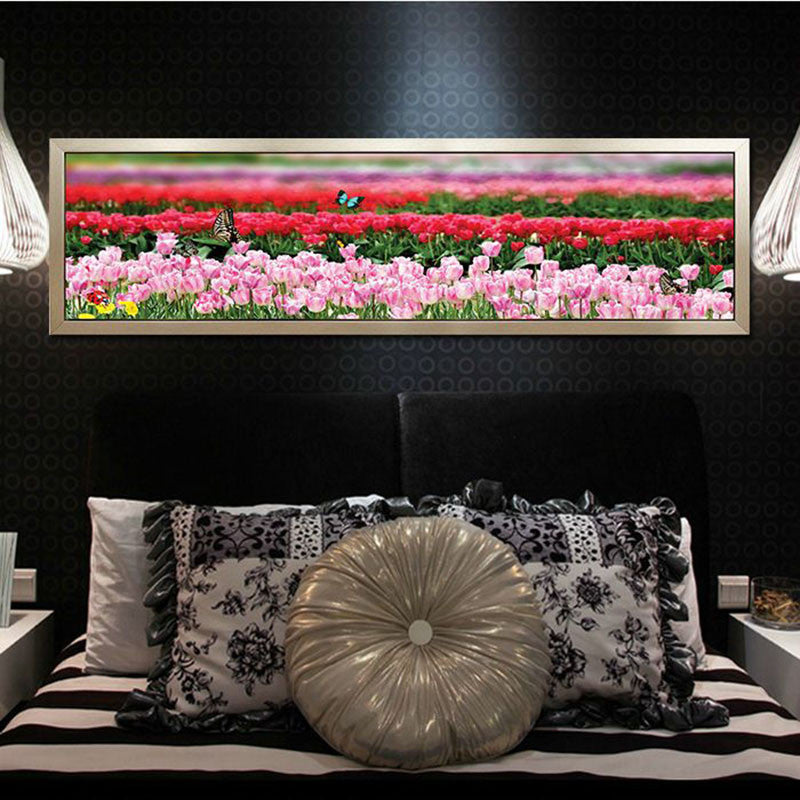 Diy 5D Rubik cube diamond painting 160x51cm Bedside painting boudoir secret language crystal Handmade mosaic Decorative Painting