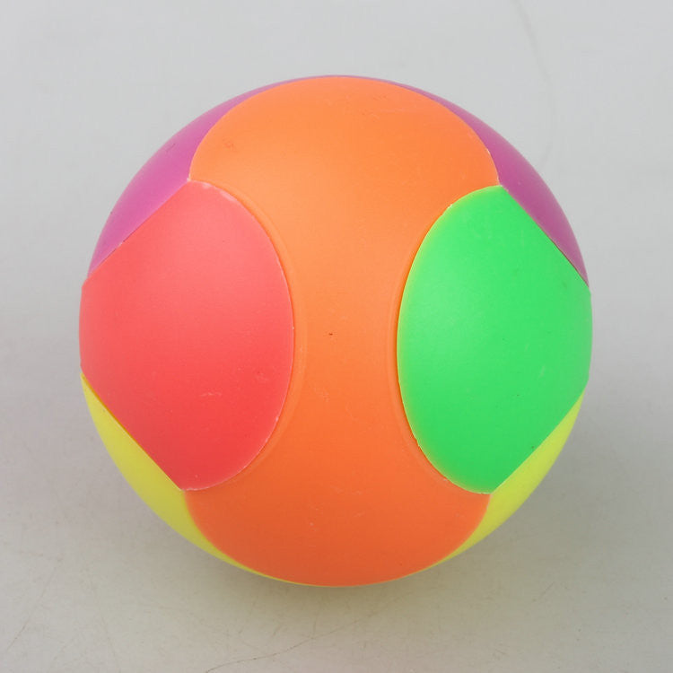 5 Cm Color Assembled Magic Cube Kong Ming Ball Ruban Ball Solid Interlocked