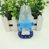 Baby Infant Pacifier Feeding Nipples Silicone Soft Solid Feed Tool Fruit Juice Bite Bags Sucking Nipple Toddler Teether