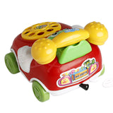 1Pc Baby Toys Music Cartoon Phone Educational Developmental Kids Toy Gift New A18187