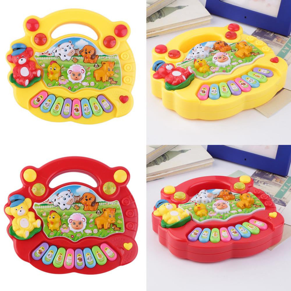Baby Kids Musical Educational Piano Animal Farm Developmental Music Toy Hot Selling