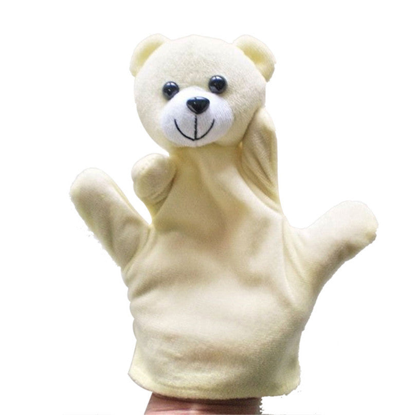 Modern Cartoon Children Baby Toy Finger Puppets Hand Puppet Doll Animals Gloves For Kids Fast Shipping Jul15