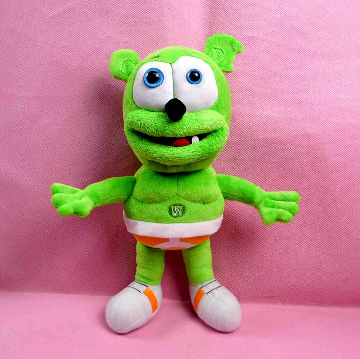 Hot Sale 35cm Singing I'm a Gummy Bear Funny Lovely Toys Sounding Plush Toy Best Gift For Kids