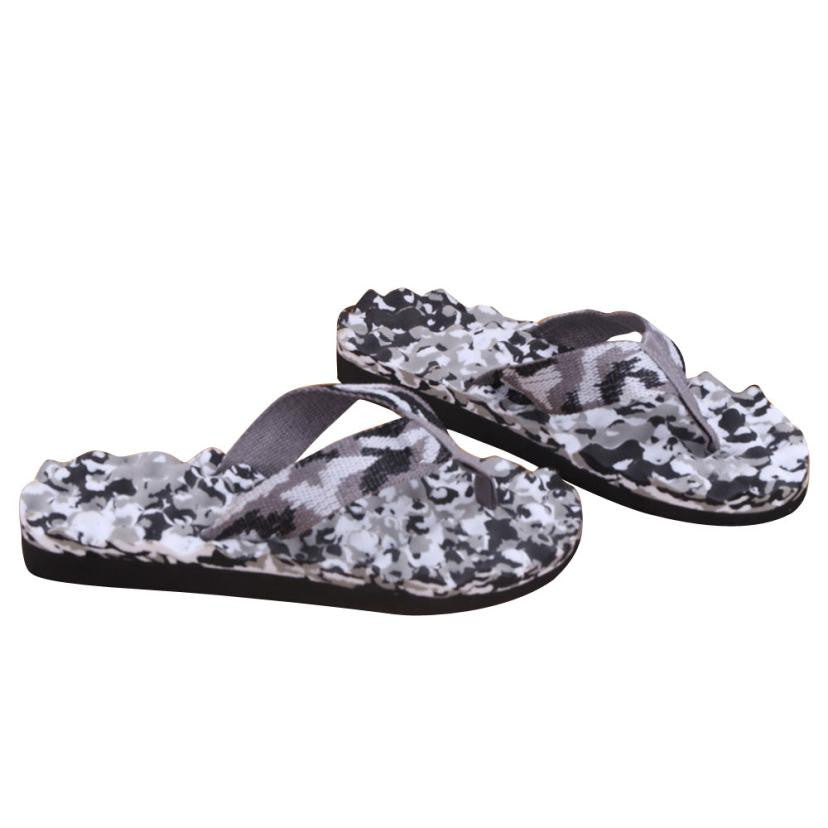 Splendid 2016 new arrival Men Summer Camouflage Flip Flops Shoes Sandals Slipper indoor & outdoor Flip-flops free shipping