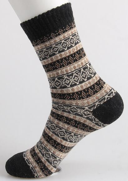 New free shipping caramella wool socks men high quality sox socks style winter warm happy's socks weed stocking 201w