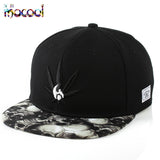 2016 Brand New Cotton Mens Hat Skull Print weed cap Unisex Women Men Hats rockstar Snapback Casual bone baseball cap basketball