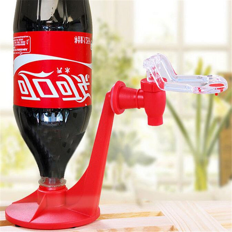 Best Cola Dispenser Upside Down Drinking Fountain Cola Beverage Dispenser Hand Pressure Water Bottle Drinkware