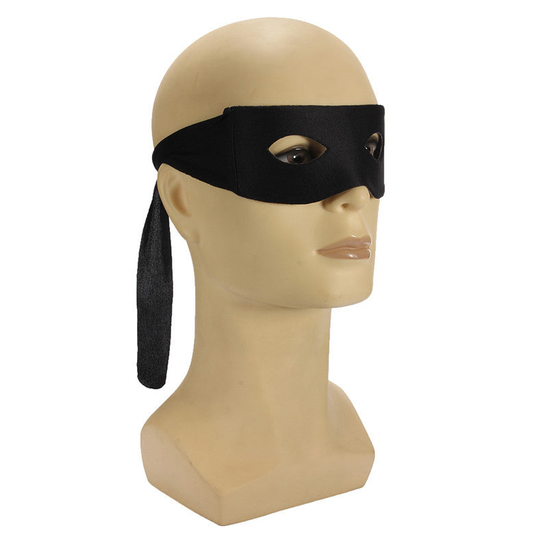 Hot Sale Masquerade Ball Carnival Halloween Party Decoration Fancy Dress Costume Mens Blinder Black Zorro Hero Bandit Eye Mask
