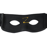 Black Zorro mask dance step ghost mask for men and women Z word masquerade party wedding decoration props half face mask hip-hop