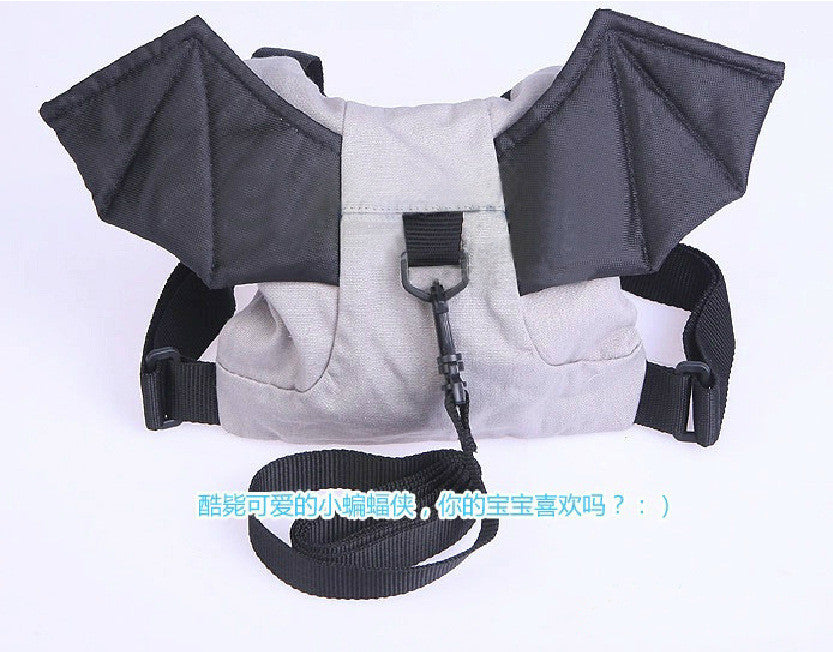 New 2016 Baby walker Kid Safety Harness Strap Bat Bag backpacks mochilas infantil menino Anti-lost Walking Wings Baby sling wrap