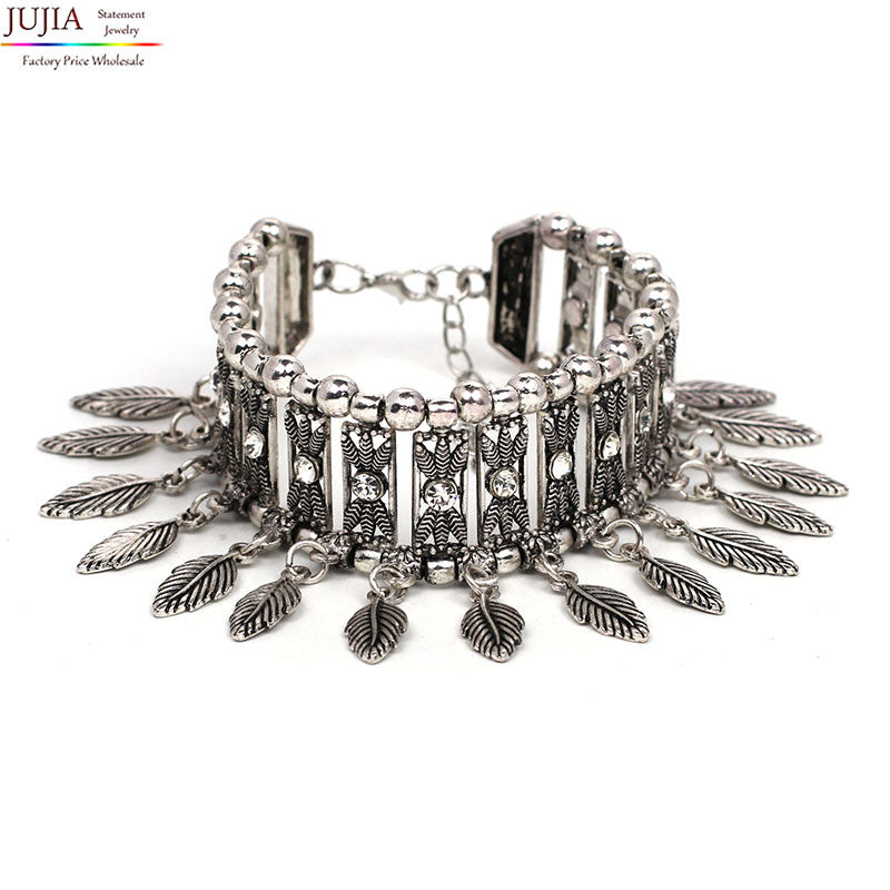 JUJIA 2016 New Vintage fashion charm bohemia Bracelets & Bangles for women jewelry bracelets wholesale