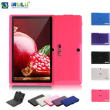 iRULU eXpro X1s 7 Inch Android 4.4 Tablet PC Quad Core 8G ROM 1024*600 HD Computer with Keyboard Case 2015 New Hot Selling