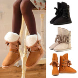 Fashion Women Girls Flat Heels Autumn&Winter Warm Snow Boots Black/ Beige/Camel  88 High Quality