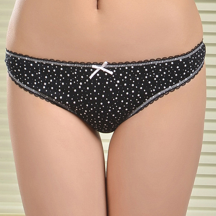 Cotton Women's Sexy Thongs G-string Underwear Panties Briefs For Ladies T-back,Free Shipping, 1pcs/lot 87252