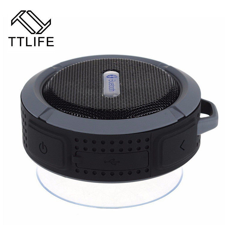 TTLIFE Mini Waterproof Bluetooth Wireless Speaker Super Bass Stereo Sport Volume Control Hifi Speaker Portable MP3 Music Player