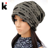 2016 autumn and winter double cutout piles cap hip-hop cap hat turban beanie hats for women and man 007