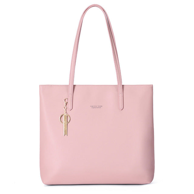 WEICHEN Large Capacity Women Handbag Ladies Top-Handle Totes Shoulder Bag Female Casual Tote Shopping Sac Big Travelling Bag