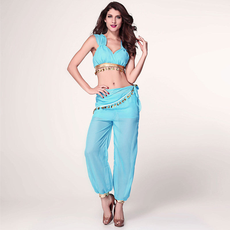 2016 Halloween costumes for women cosplay jasmine aladdin costume genie outfit arabian night princess fancy Dress  sc 1 st  Blobimports.com : aladdin costume  - Germanpascual.Com