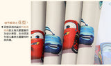 Eco-friendly bedroom cartoon car curtain yarn child real the bedroom curtain finished product jacquard window curtain D065#20