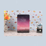Hot diary Notebook color paper Tin cover 144 sheets Silent Night Creative Notepad book Note book Office School Supplies Gift