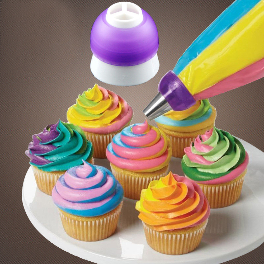 1 pc 2016 New Arrival Icing Piping Decorating Nozzle Converter Adapter Fondant Cake Baking Tool Kitchen Tool Free Shipping