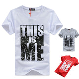 Brand Clothing Men T-shirt Swag T-Shirt Men 95% Cotton Print Men T shirt Homme Fitness Camisetas Hip Hop t shirt Men