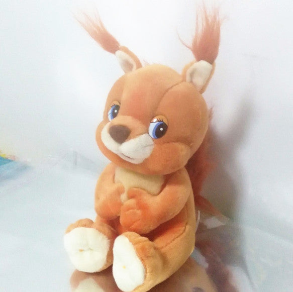 Russian language singing song Squirrel doll,electronic toys for girl,Intellectual development, russian toy