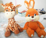 Russian language Bunny rabbit giraffe singing song horses doll,electronic toys for girl,Intellectual development, russian toy