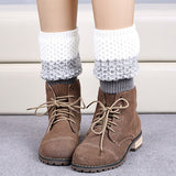 Soft Fashion Women Warm Crochet Knitted Trim Boot Cuffs Toppers Leg Warmers Hot Sellinghot