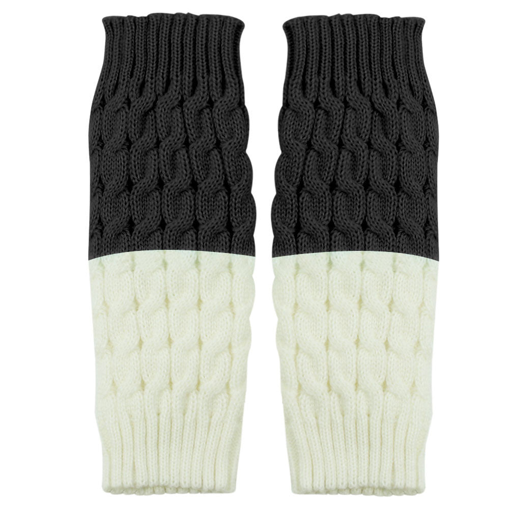 Creative luxury 1 Pair Knitted Leg Warmers Socks Boot Cover Sock Women Socks Women,popular  meias harajuku,Fashion meia