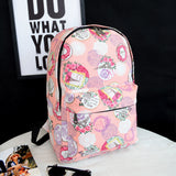 2016 Hot women printing backpacks  rucksack fashion canvas bags retro casual school bags travel bags 93