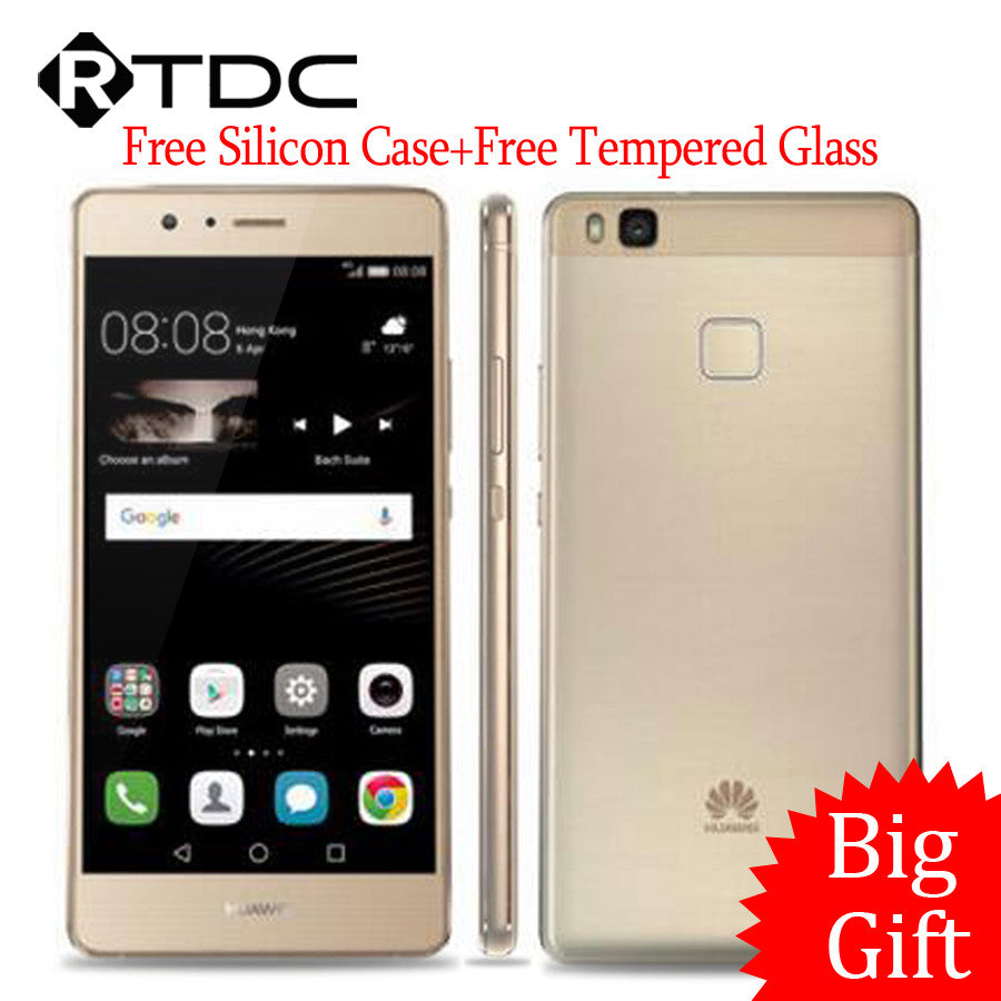 "New Arrival Original Huawei G9 Lite 4G LTE Mobile Phone 5.2"" MSM8952 Octa Core 3GB RAM 16GB ROM 13.0MP 3000mAh Fingerprint ID"