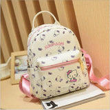 Hello Kitty Children School Bags For Girls Hello Kitty Girl School Bag Waterproof Primary Backpack Kid Bag Lovely Baby Bag PU