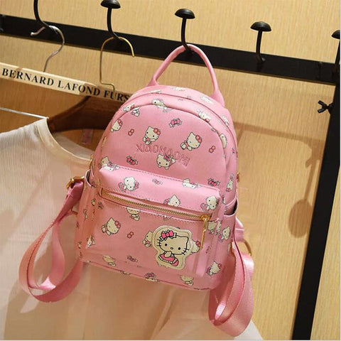 7fd1ddb62ef5 ... Hello Kitty Children School Bags For Girls Hello Kitty Girl School Bag  Waterproof Primary Backpack Kid ...