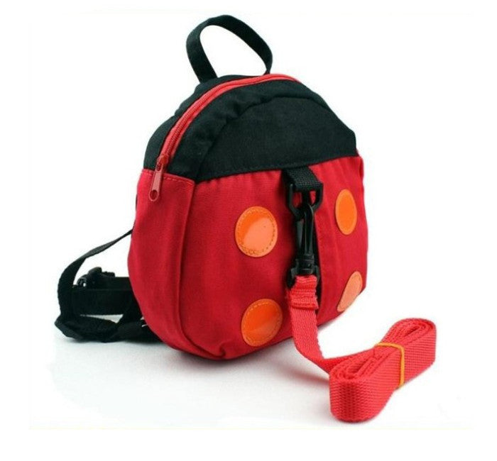 2016 Harness Removable Tether Strap Kids Keeper Toddler Safety Rein Ladybird Backpacks Bag Small Cute Red Convenient baby sling