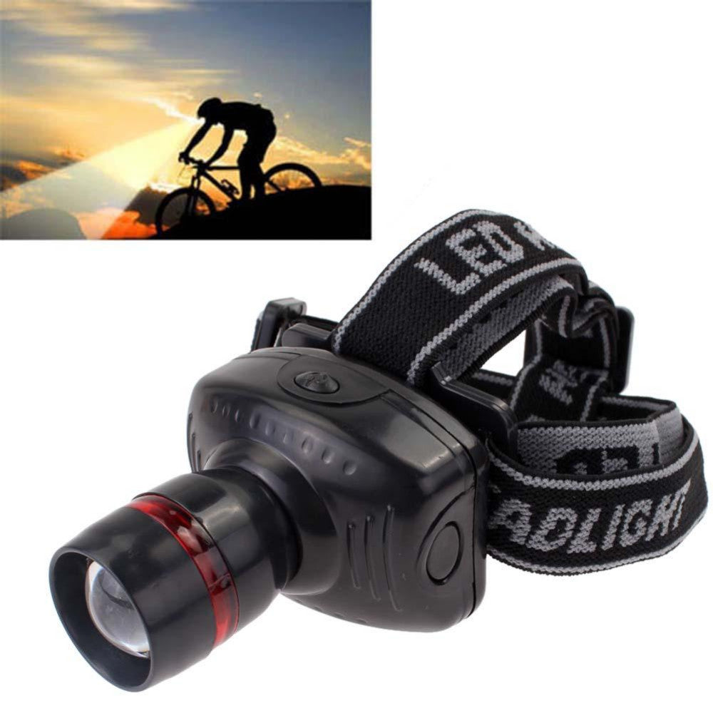 2016 Hot selling!!!3W CREE LED Headlamp Flashlight Zoomable Headlight Head Torch Lamp Light AAA