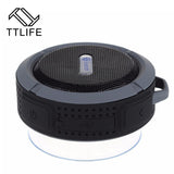 TTLIFE Mini  Waterproof Bluetooth Speaker Bass Outdoor Sport Wireless Sound Box Loudspeakers Speakers For iphone MP3 Player