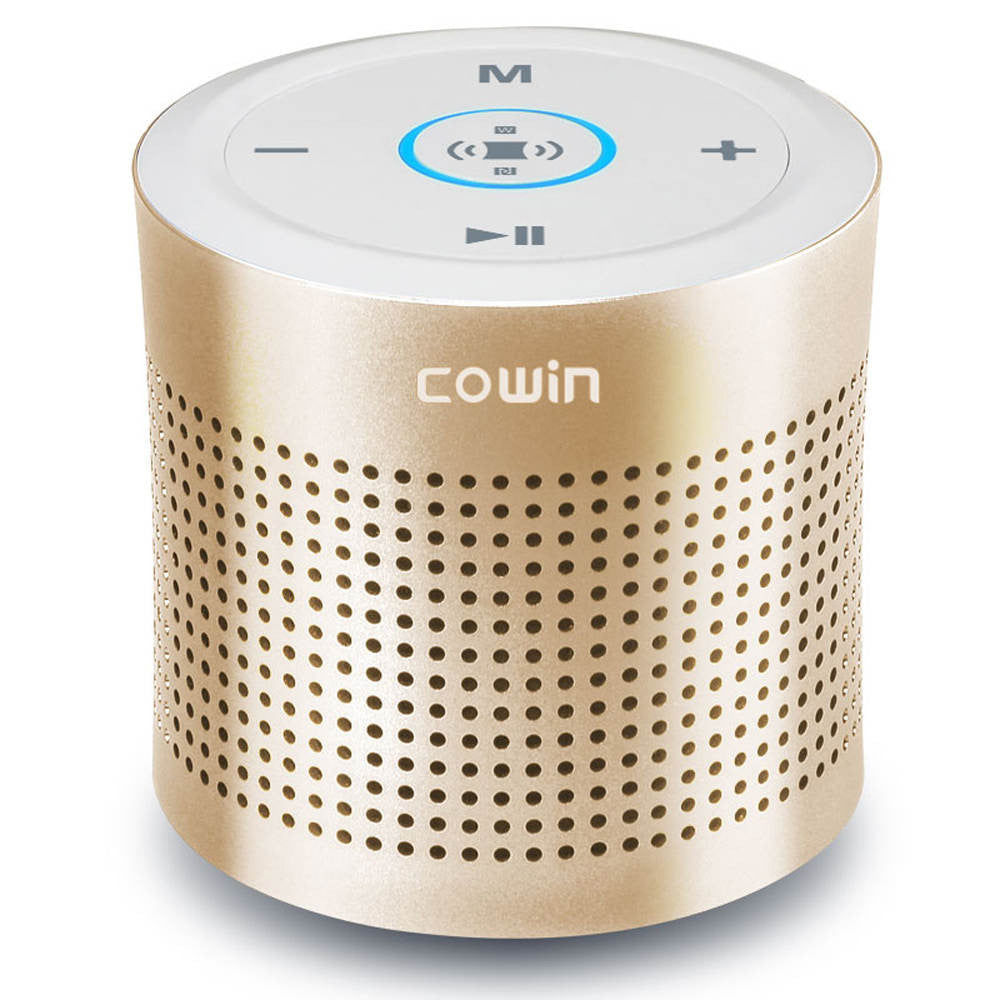 Cowin Thunder II luxury Bluetooth Speaker Subwoofer Stereo Wireless Portable Speakers Amplifier for Phone Computer 3.5mm