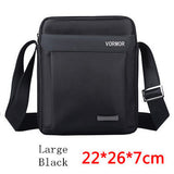 VORMOR Men bag 2016 fashion mens shoulder bags, high quality oxford casual messenger bag business men's travel bags