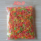 About 1000pcs/bag (small package) 2015 New Child Baby TPU Hair Holders Rubber Bands Elastics Girl's Tie Gum