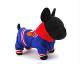 Hot Sale Winter Dog Coat Pet Dog Clothes  Lucky Stars Dog Jumpsuit For Chihuahua  Size XXS XS S M L