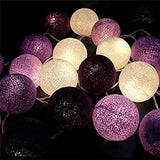 20PCS,christmas lights,garland string lights,AC110V/220V,cotton ball light,home indoor decoration,wedding decoration,fairy light
