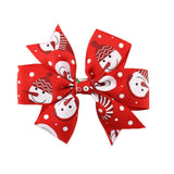 1PC Kids Hair Clips Christmas Hair Accessories For Girls Infant Hairpin Grampo De Metal Para Cabelo #2648
