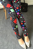 New 2016 Women Leggings Pantalones Black Milk Print Leggings Summer Style Soft Skin Material Nine Women Leggins