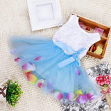 COCKCON Infant Baby Girl Tutu Dress vestidos Kids Cute Lace Flower Summer Party Princess Dresses baby girl Christmas Clothes