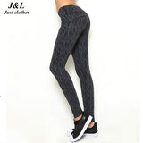 10 Styes New Women Push-up Sporting Leggings Print Fashion Patchwork Elastic Skinny Fitness Leggings Sporting Clothing For Women