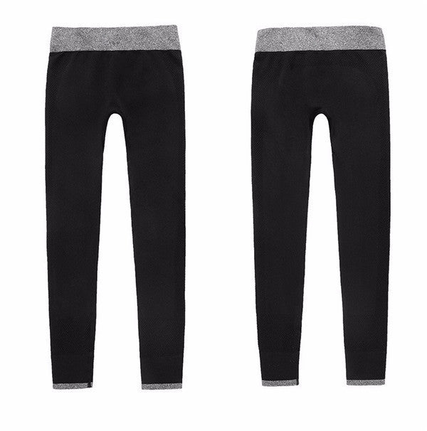 S-XL 4 Colors Women Seamless Leggings Fashion High Waist Legging Surper Stretch Skinny Active Workout Black Leggings Women