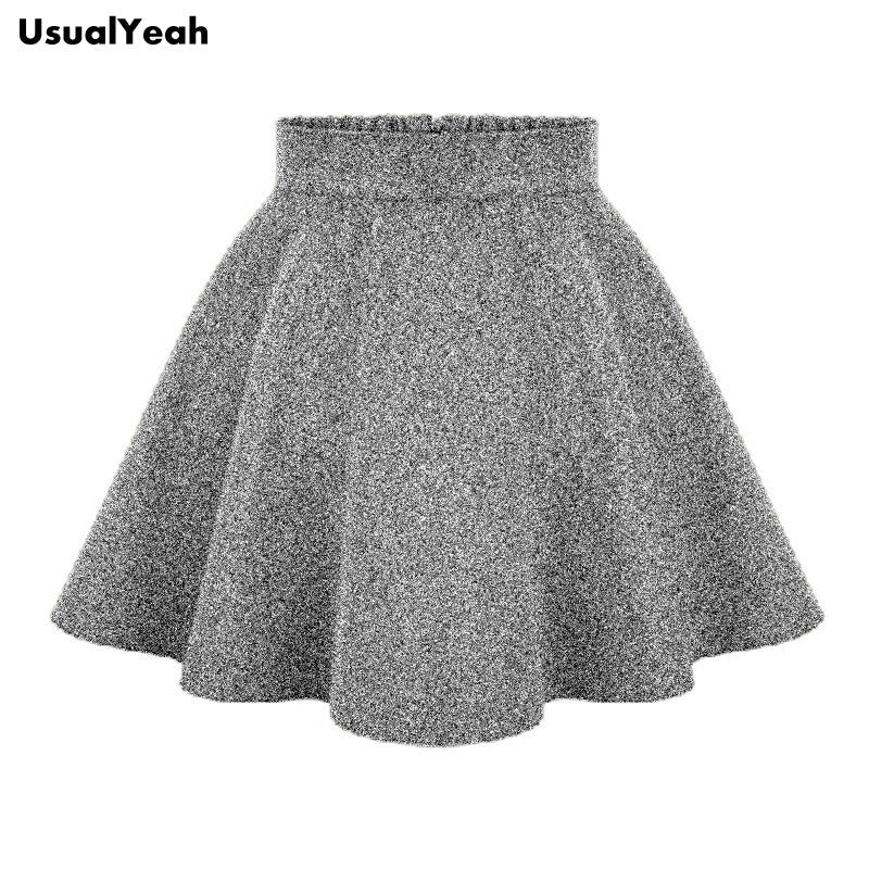 2016 Ladies Fashion High Waist Skirts Tutu women's Spring Autumn Winter Free Shipping Mini Skirt Khaki Black Gray
