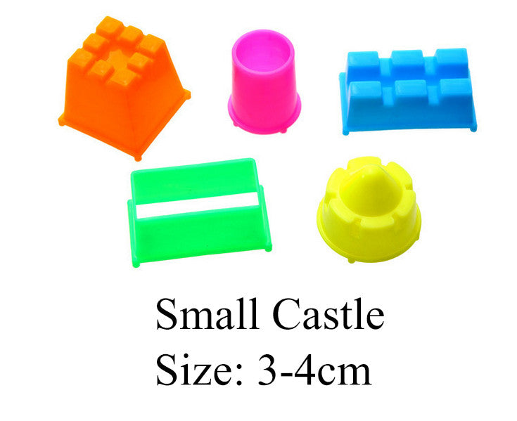 4-8pcs/lot Play Dough  Plasticine Mold Tools Set Kit Sand Begin Kids Baby Ability Playdough Polymer Clay Beach Toy Traning Toy