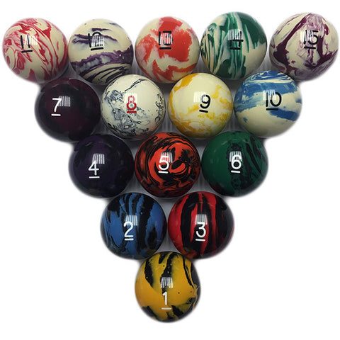 Marbelized Regulation Billiard Ball
